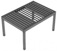 Pergola aluminiowa - TYP A
